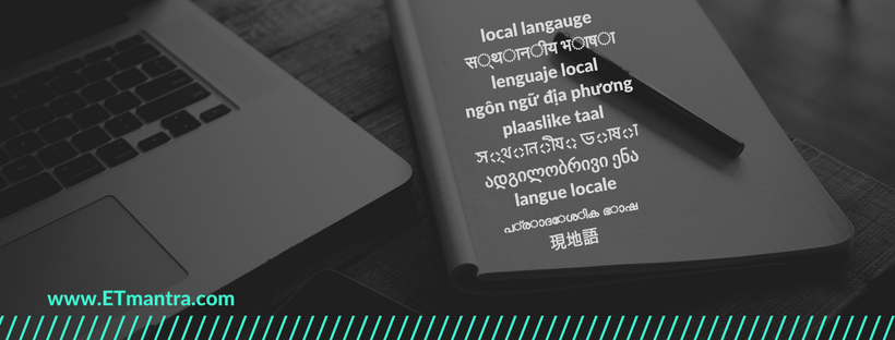 Educational content in local language