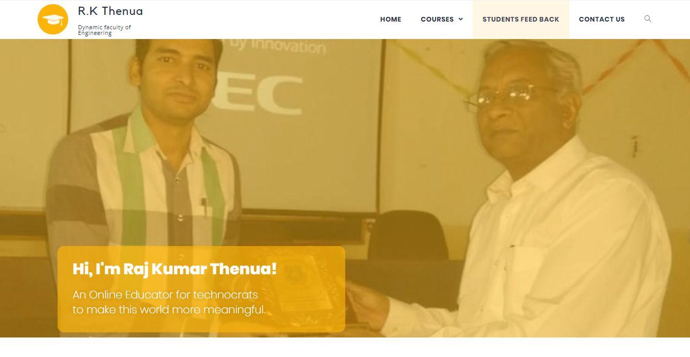 Rkthenua website screenshot