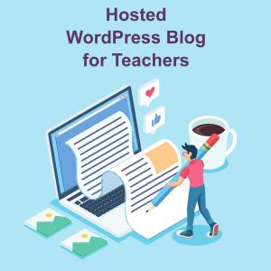 hosted wordpress for teachers