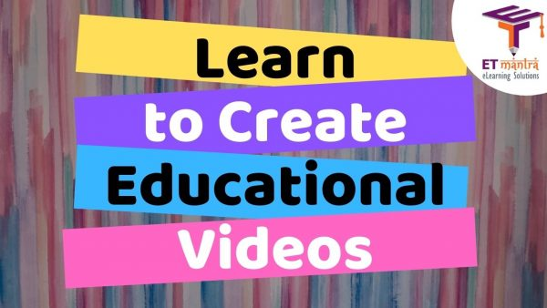 Course on Educational Video Creation